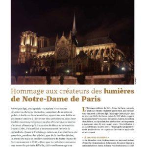 302_FLASH_RENCONTRE Hommage aux créateurs des lumières de Notre-Dame de Paris