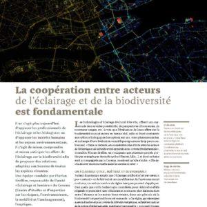 300_DOSSIER_La coopération entre acteurs de l'éclairage et la biodiversité est fondamentale