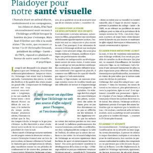 309_COMPRENDRE LA SCIENCE DE L'ÉCLAIRAGE_Plaidoyer pour notre santé visuelle