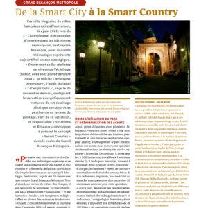 309_DOSSIER URBANISME_De la Smart City à la Smart Country