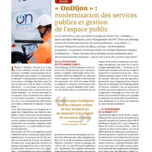 309_DOSSIER URBANISME_OnDijon modernisation des services publics et gestion de l'espace public