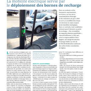 309_SE METTRE AU NOUVEL OUVRAGE_La mobilité électrique servie par le déploiement des bornes de recharge